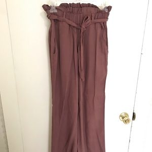 Thread Supply PaperBag Pants size S Burgundy